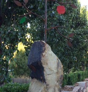 Sandstone Garden Sculpture